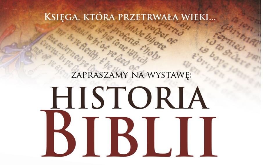 Wystawa: Historia Biblii